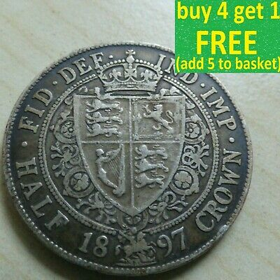 £69.99 • Buy Victoria Half-Crown Coin Sterling Silver Choose Yours 1837-1901