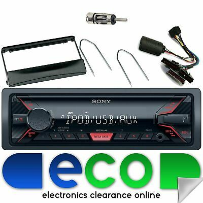 Ford Focus MK1 SONY USB Aux Ipod Car Stereo Black Facia & Steering Interface • 84.99£