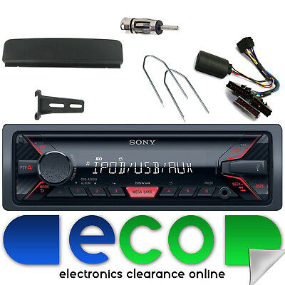 Ford Focus MK1 SONY USB Aux Ipod Car Stereo Silver Facia & Steering Interface • 79.99£