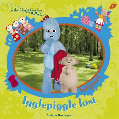 Igglepiggle Lost (In The Night Garden), Andrew Davenport, Used; Good Book • 3.29£
