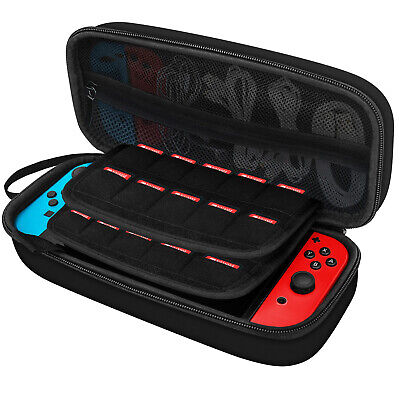 $12.97 • Buy JETech Carrying Case For Nintendo Switch With 20 Game Cartridge Holders Black