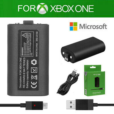 $13.99 • Buy FOR Xbox One S X Controller Rechargeable Battery & Charging Charger Cable Kit US