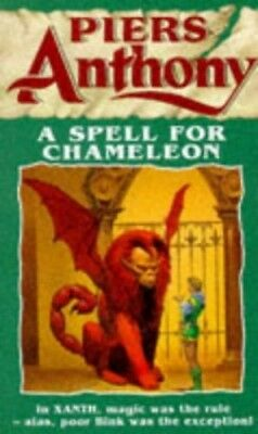 £4.99 • Buy A Spell For Chameleon By Anthony, Piers Paperback Book The Cheap Fast Free Post
