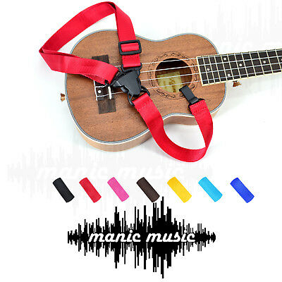 AU10.99 • Buy Ukelele Ukulele Shoulder Strap Adjustable Nylon Cotton Colourful Classic Design