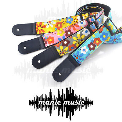 AU16.99 • Buy Ukulele Ukelele Shoulder Strap Adjustable Cotton Colourful Classic Design