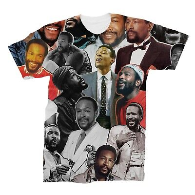 £17.83 • Buy Marvin Gaye Photo Collage T-Shirt