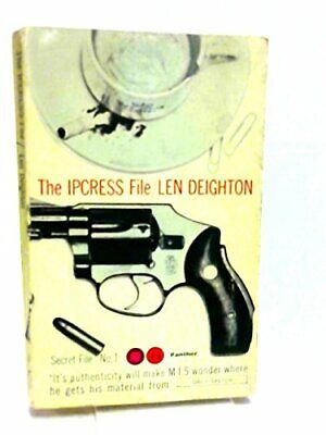 £5.49 • Buy The Ipcress File By Len Deighton Book The Cheap Fast Free Post