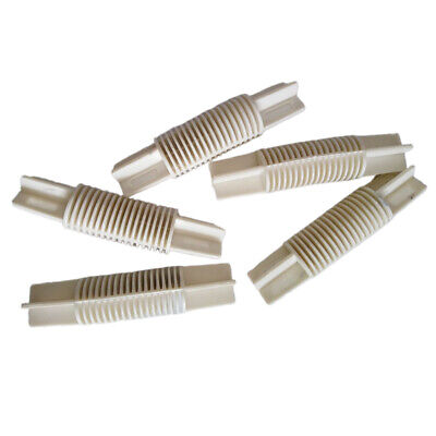 Bay Corner Joint Elbow For 26mm Or 28mm Dia. Window Curtain Pole Rod - 5Pcs • 5.90£
