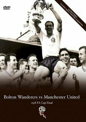 1958 Fa Cup Final - 1958 FA Cup Final Bolton Wanderers V Manchest... - DVD  M0VG • 30.17£