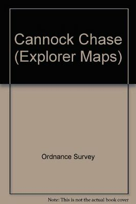Cannock Chase (Explorer Maps) By Ordnance Survey Sheet Map, Folded Book The • 7.99£