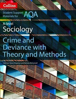 £8.49 • Buy AQA A Level Sociology Crime And Deviance With Theory And ... By Copeland, Judith