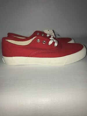 9c4eca82ad8 PRO-KEDS Red Canvas Shoes Womens Vintage 6 NWT • 14.99