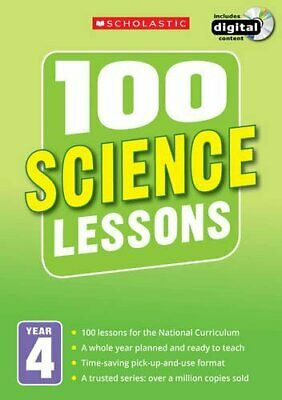 100 Science Lessons: Year 4 (100 Lessons - New Curriculum) By McMahon, Kendra • 11.30£