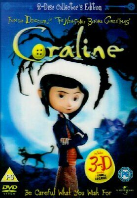 £3.49 • Buy Coraline - 2 Disc Limited Edition (Includes The 2D And 3D Version... - DVD  8UVG
