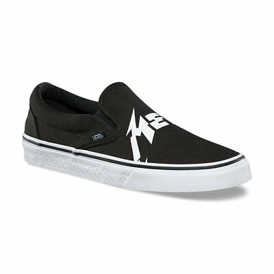 d2ae15edcc VANS X METALLICA Classic Slip-On Shoes (NEW) Black   HARDWIRED TO SELF