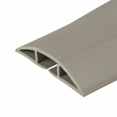 Chargeline Grey Floor Cable Protector/ Floor Hazard Cable Cover Tidy 50cm-9m • 16.99£