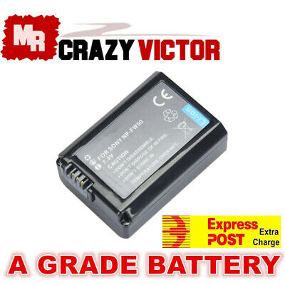 AU17.95 • Buy Battery For Sony Alpha A7R A7S ILCE-3000 5000 5100 6000 6300 6500 ILCE-7 7M2 7S