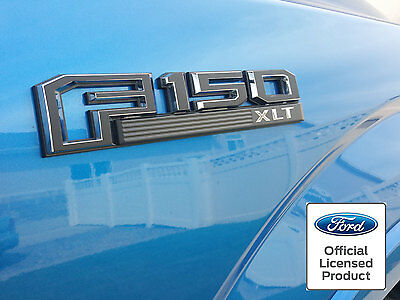 $14.95 • Buy Ford F150  Sideand Tailgate Emblem Overlay Decals 2015 2016 2017 2018 Stickers
