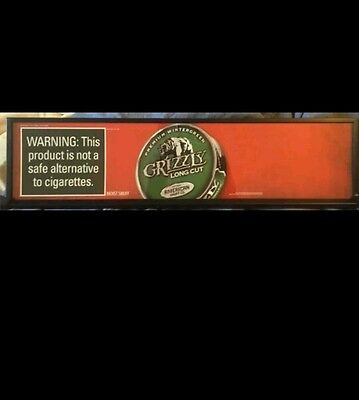 $ CDN97.55 • Buy 2 Ft Grizzly Chewing Tobacco LED Sign