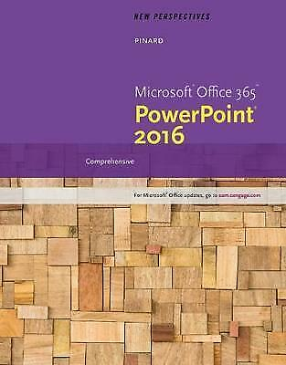 AU38 • Buy New Perspectives Microsoft Office 365 & PowerPoint 2016 By Patrick Carey, Ann Sh