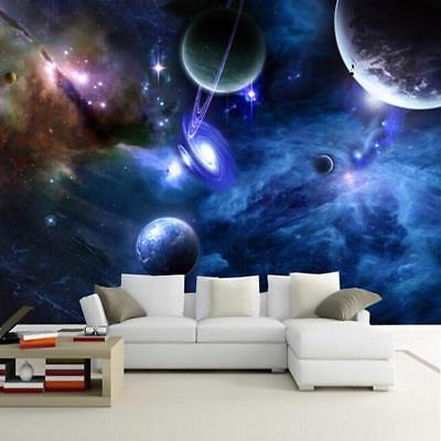 $20.48 • Buy Home Room Wallpaper Kids Bedroom Outer Space Theme Unique Wall Sticker Accessory