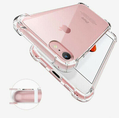 AU4.90 • Buy For Apple IPhone 11 Pro Max XS 8 7 6 Soft Shockproof Tough Gel Clear Case Cover