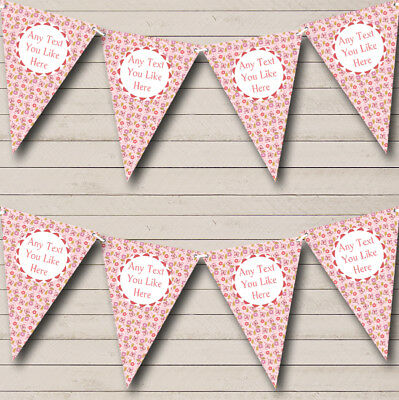 £6.79 • Buy Pink Butterflies Welcome Home New Baby Bunting Party Banner