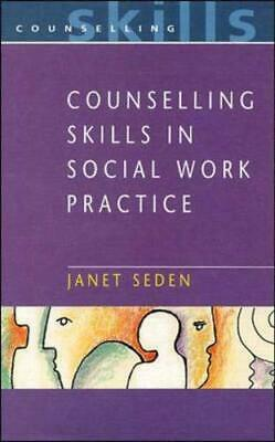 Counselling Skills In Social Work By Seden, Janet Paperback Book The Cheap Fast • 5.49£