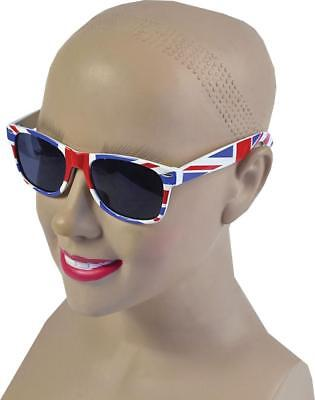 Adult Fancy Party Costume Great British Union Jack Sunglasses One Size UK • 6.49£