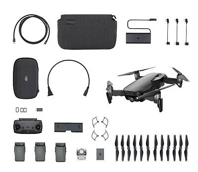 AU900.25 • Buy DJI Mavic Air - Onyx Black Drone - Fly More COMBO - 4K Camera
