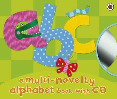 Abc (Book & CD) By Ladybird Hardback Book The Cheap Fast Free Post • 6.49£