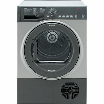£270 • Buy Hotpoint TCFS83BGG B Rated 8Kg Condenser Tumble Dryer Graphite
