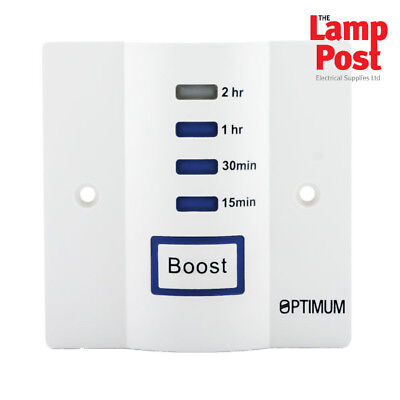 Optimum OP-EBT2 - Energy Saving 15 Mins-2 Hour Immersion Heater Booster Timer • 16.99£