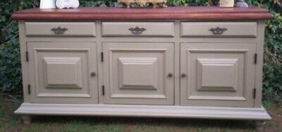 Gorgeous Vintage French Solid Oak Sideboard  • 510£