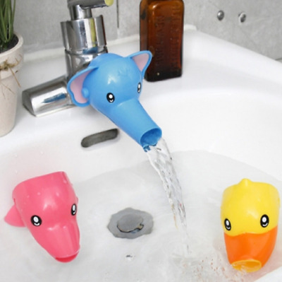 $7.52 • Buy Cartoon Bathing Accs Water Faucet Extender For Kid Hand Washing Child Sink Guide