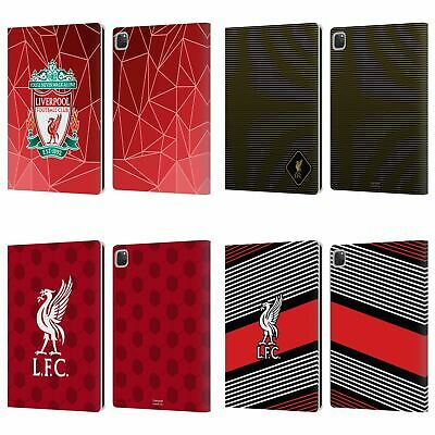 LIVERPOOL FC LFC CREST & LIVERBIRD 2 PU LEATHER BOOK WALLET CASE FOR APPLE IPAD • 22.95£