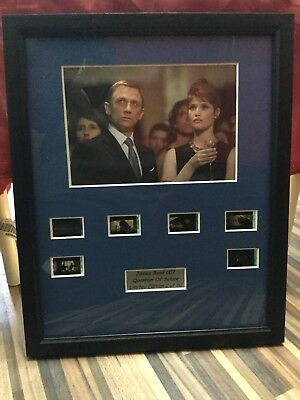 James Bond 007 - Quantum Of Solace Limited Edition Film Cells Framed And Mounted • 30£