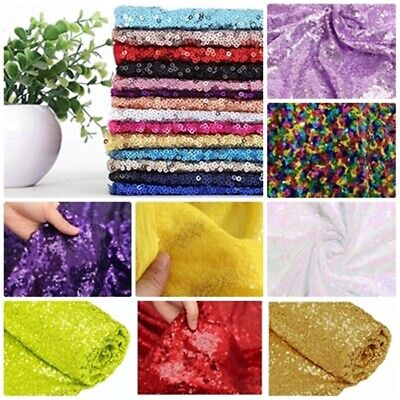 Sequin Fabric Sparkly Shiny Bling Material Cloth 130cm Wide Sample 1, 1/2 Metre • 1.20£