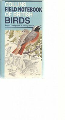 £3.49 • Buy Field Notebook Of British Birds By Snow, Philip Book The Cheap Fast Free Post