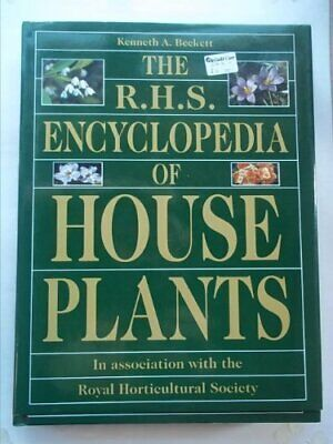 RHS Encyclopedia Of Houseplants By Royal Horticultural Society Book The Cheap • 11.99£