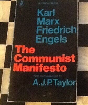 The Communist Manifesto By Marx, Karl; Engels, Frederick Paperback Book The • 9.99£