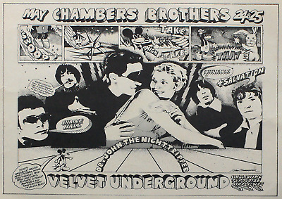 £13.50 • Buy Reproduction The Velvet Underground - Chamber Brothers Poster, Home Wall Art