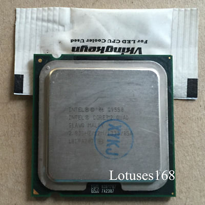 $ CDN33.66 • Buy Intel Core 2 Quad Q9550 2,83GHz 12M 1333 4-Core Prozessor Sockel 775 CPU