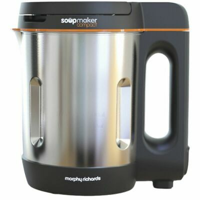 £40 • Buy Morphy Richards 501021 Compact 1 Litres Soup Maker Stainless Steel New