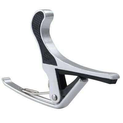 $ CDN8.35 • Buy Quick Change Tune Clamp Key Capo For Acoustic Electric Classical Guitar Silver