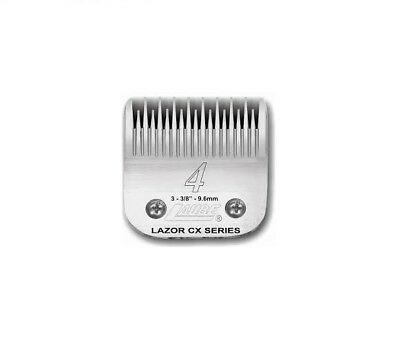 Laube CX Steel Dog Grooming Clipper Blade #4  Fits Standard Andis, Oster, Wahl • 53.50$