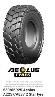 AU2300 • Buy New Aoelus 550/65r26.5 Tyre Earthmoving L3 Radial Tractor Loader