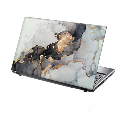 £7.95 • Buy 15.6  TaylorHe Laptop Vinyl Skin Sticker Decal Protection Cover Gold Foil Marble
