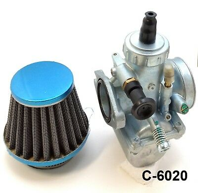 AU49.08 • Buy 26mm Carburetor W/ 42mm Air Filter For YX125 YX140 YX150 YX160 Dirt Bike Molkt