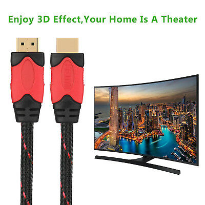 $ CDN15.98 • Buy 3FT-30FT Premium HDMI Cable V1.4 Ethernet For 3D DVD PS3 HDTV XBOX 1080P Lot